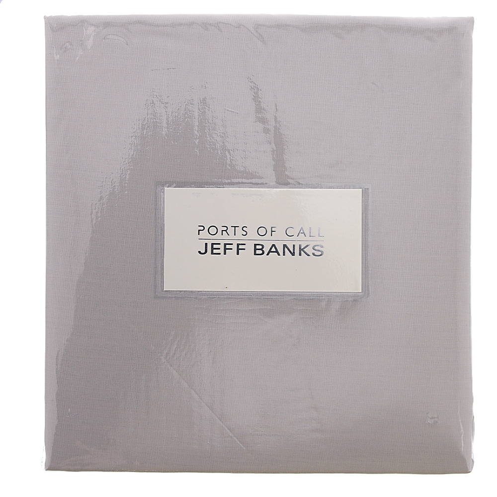 Picture of Ports of Call Jeff Banks: Fitted Sheet (Stone)