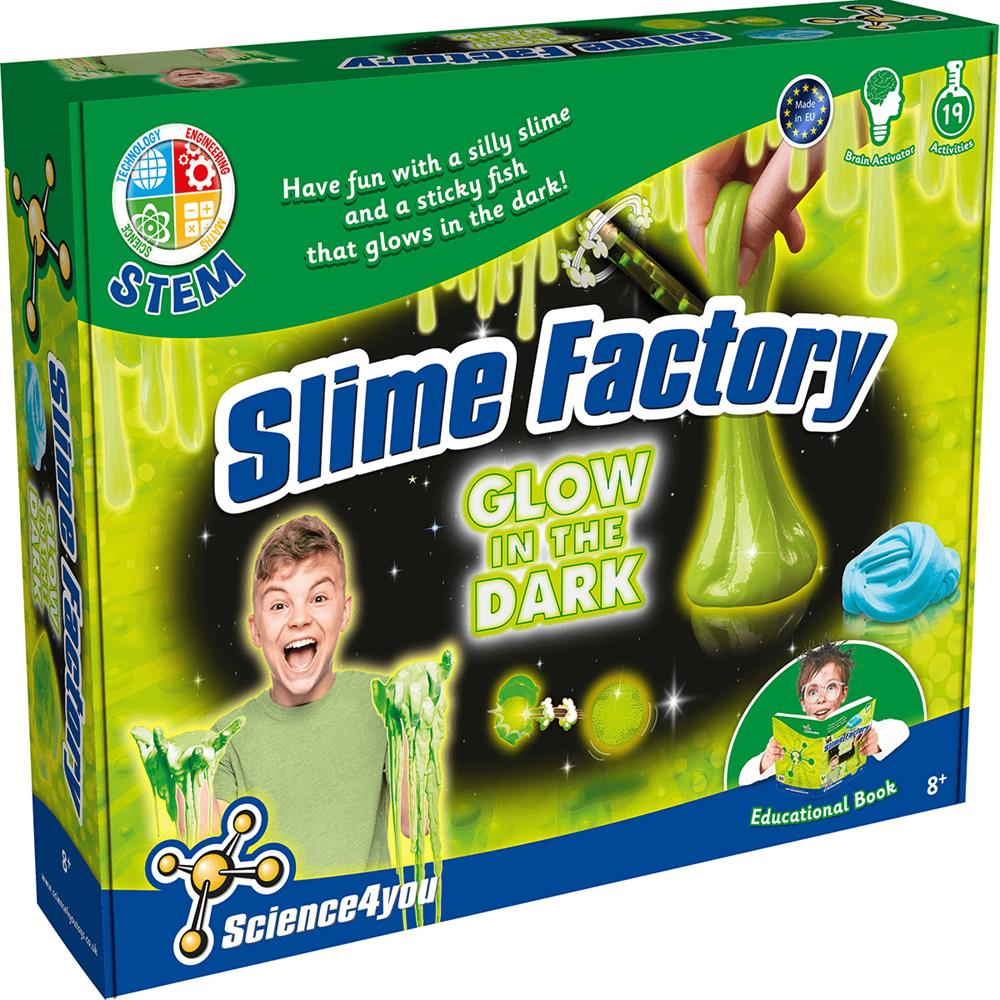 Picture of Science4You Slime Factory (Glow in the Dark)