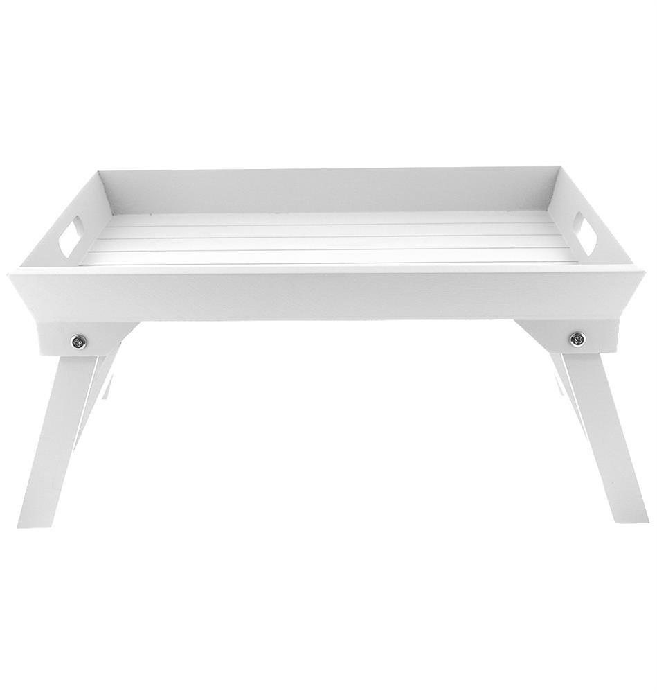 Picture of Wooden Bed Tray: White