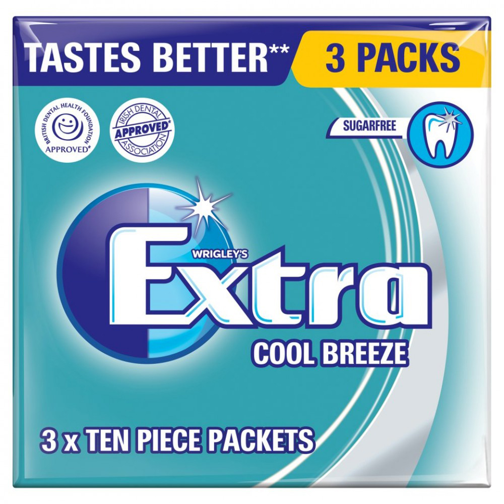 Picture of Wrigley's Extra: Cool Breeze (60 x 3 Packs)