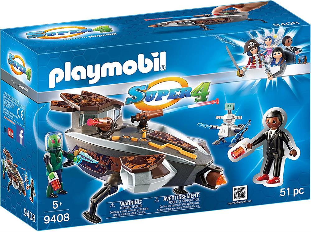 Picture of Playmobil Super 4: Sykronian Space Glider (9408)