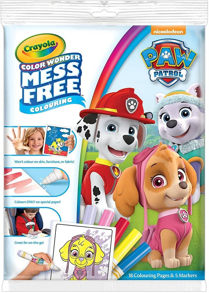 Picture of Crayola Colour Wonder Mess Free Colouring: Paw Patrol