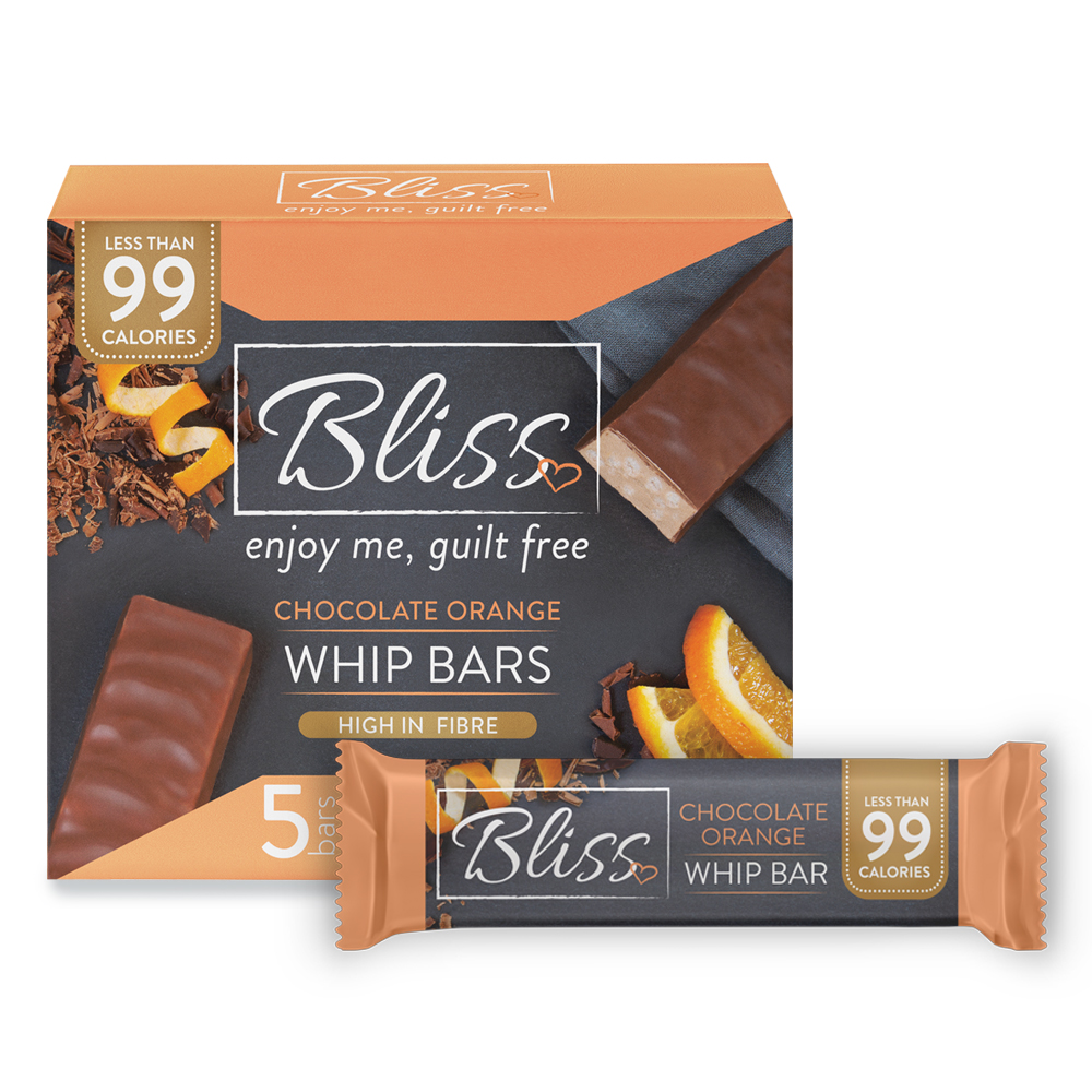 Picture of Bliss Whip: Chocolate Orange (20 x 5 Bars)
