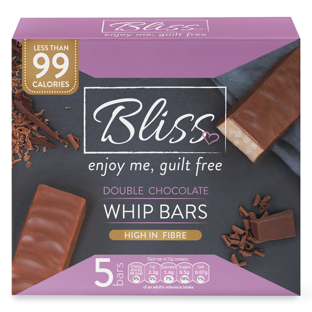 Picture of Bliss Whip: Double Chocolate (20 x 5 Bars)