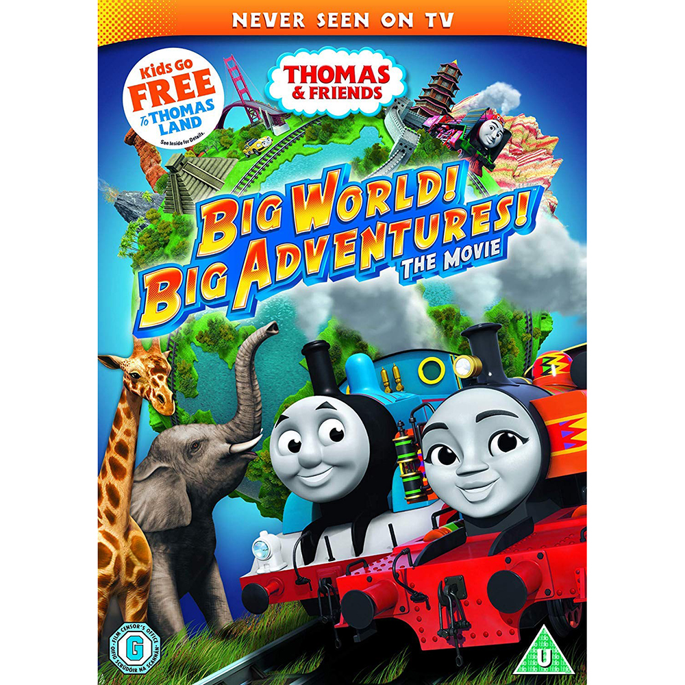 Picture of Thomas & Friends Big World Big Adventures The Movie