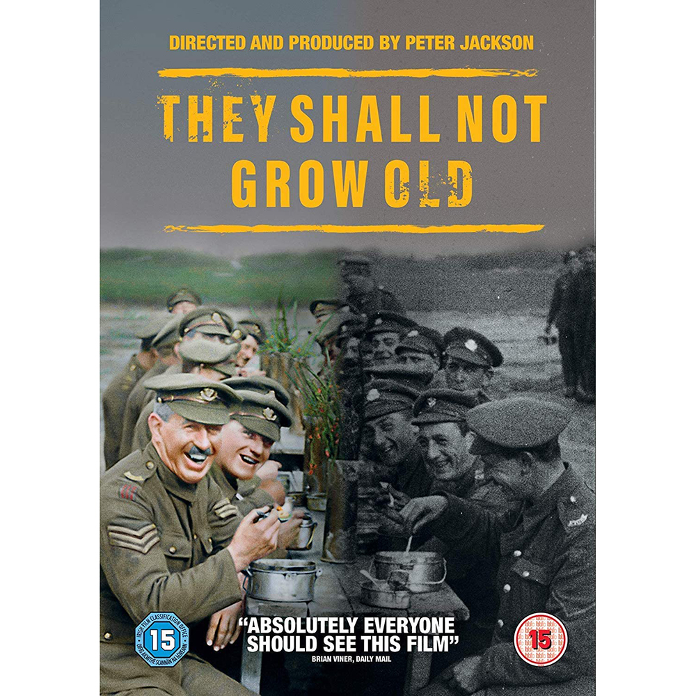 Picture of They Shall Not Grow Old DVD