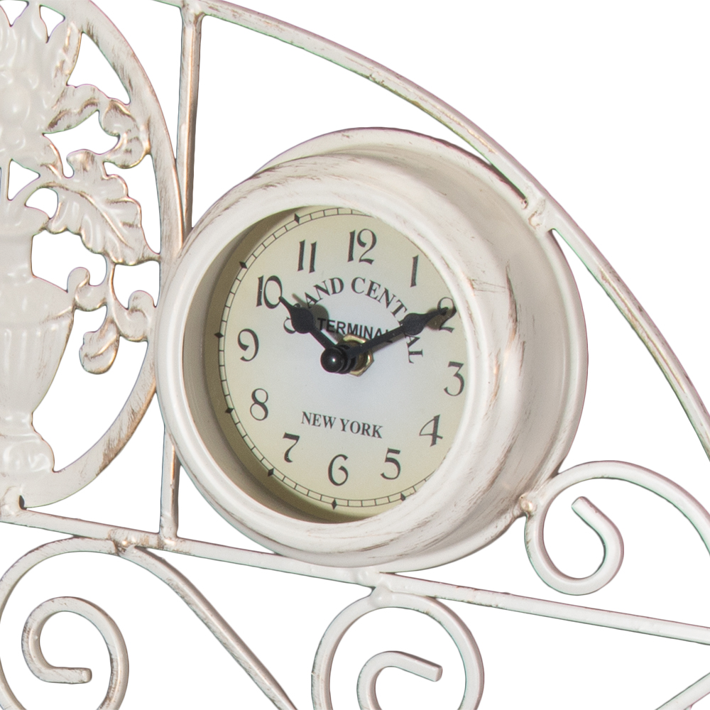 Picture of Garden Thermometer & Clock Wall Mount