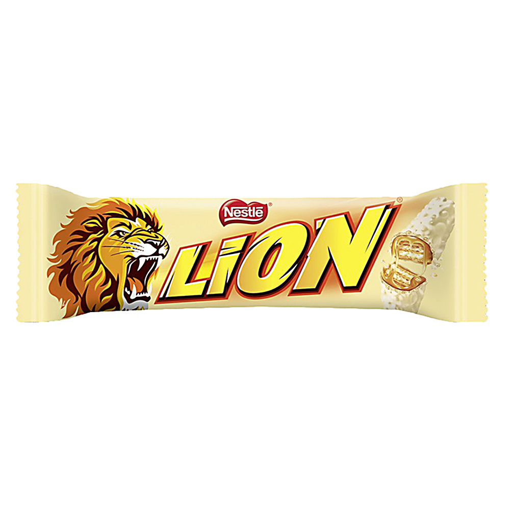 Picture of Lion White Chocolate Bar (Case 40 x 42g Bars)