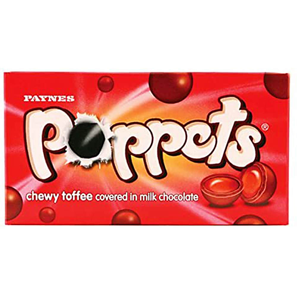 Picture of Poppets Chewy Toffee (36 x 41g Boxes)