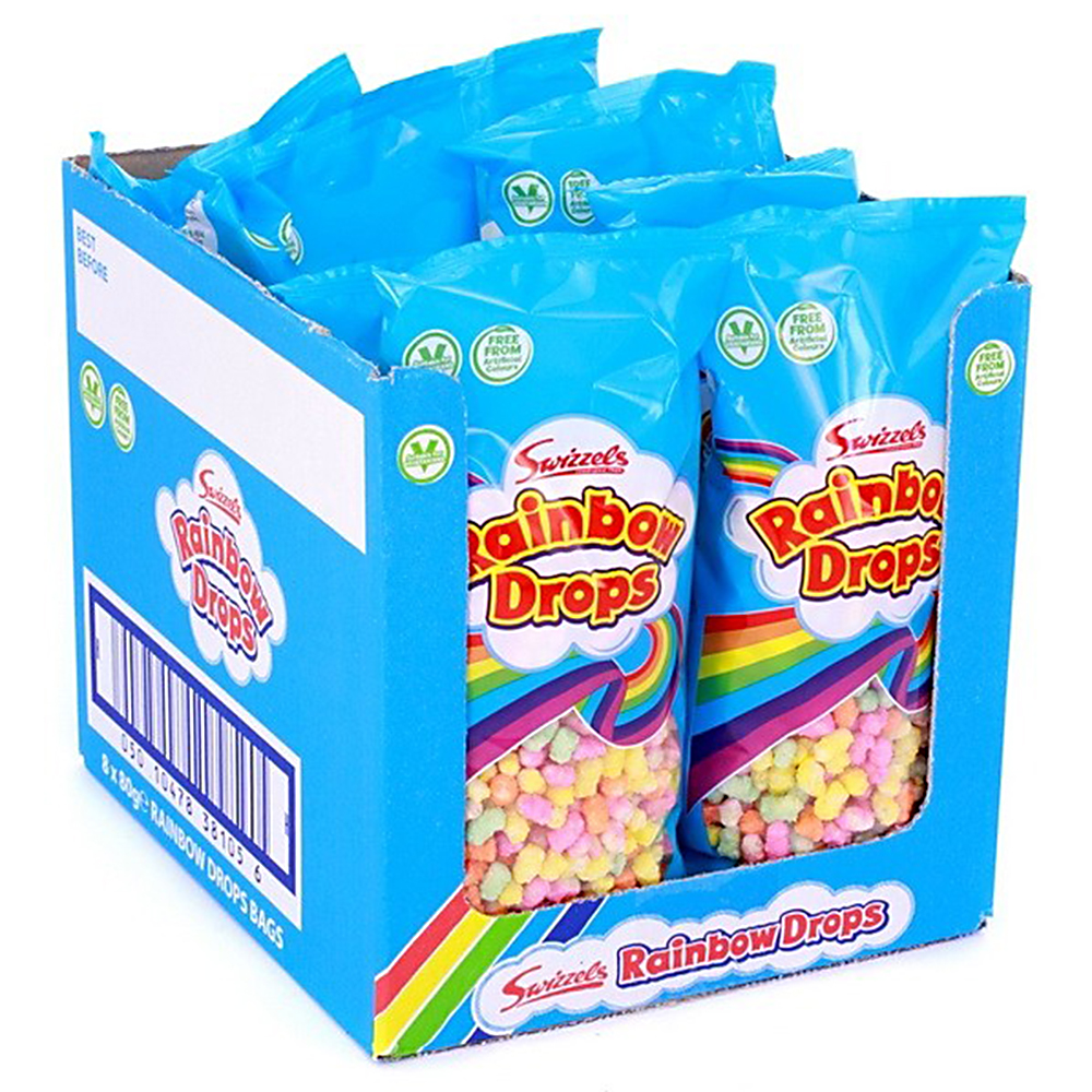 Picture of Rainbow Drops (Case of 8 x 80g Bags)
