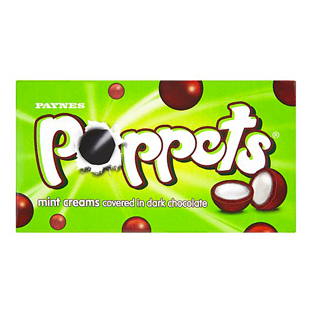 Picture of Poppets Mint Creams (36 x 41g Boxes)