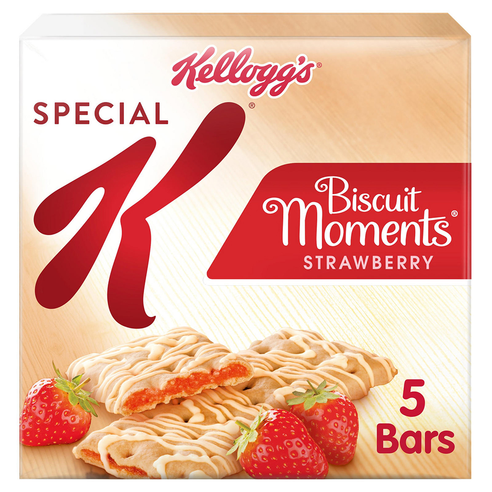 Picture of Special K Biscuit Moments: Strawberry (6 x 5 Packs)