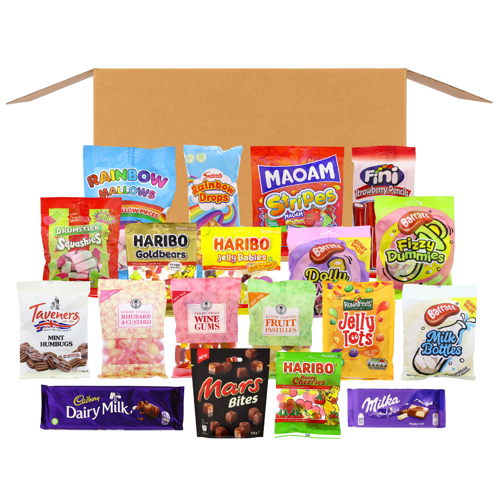 Picture of Treats Box: Sweet, Treats & Chocolate (Delivery Included)