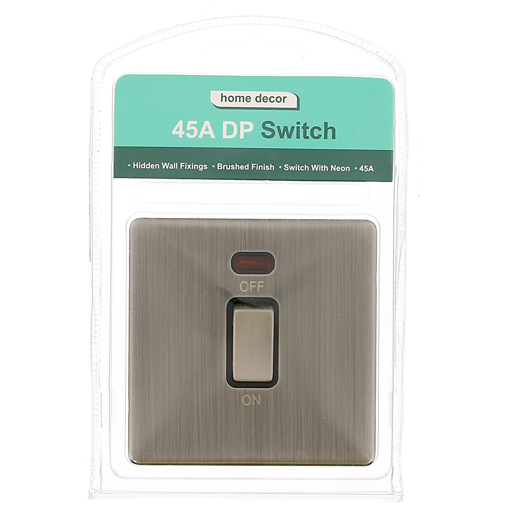 Picture of Brushed Finish 45A DP Switch