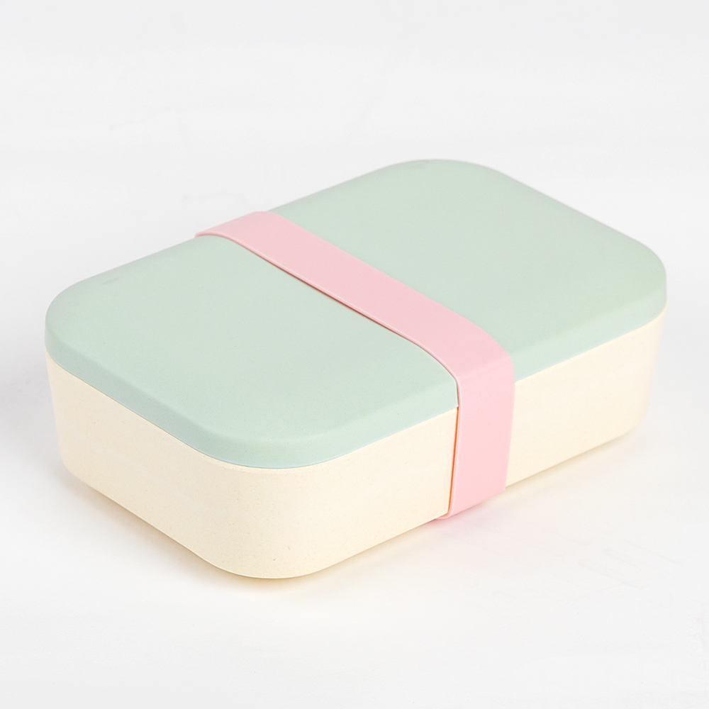 Picture of Bamboo Lunch Box with Elasticated Band