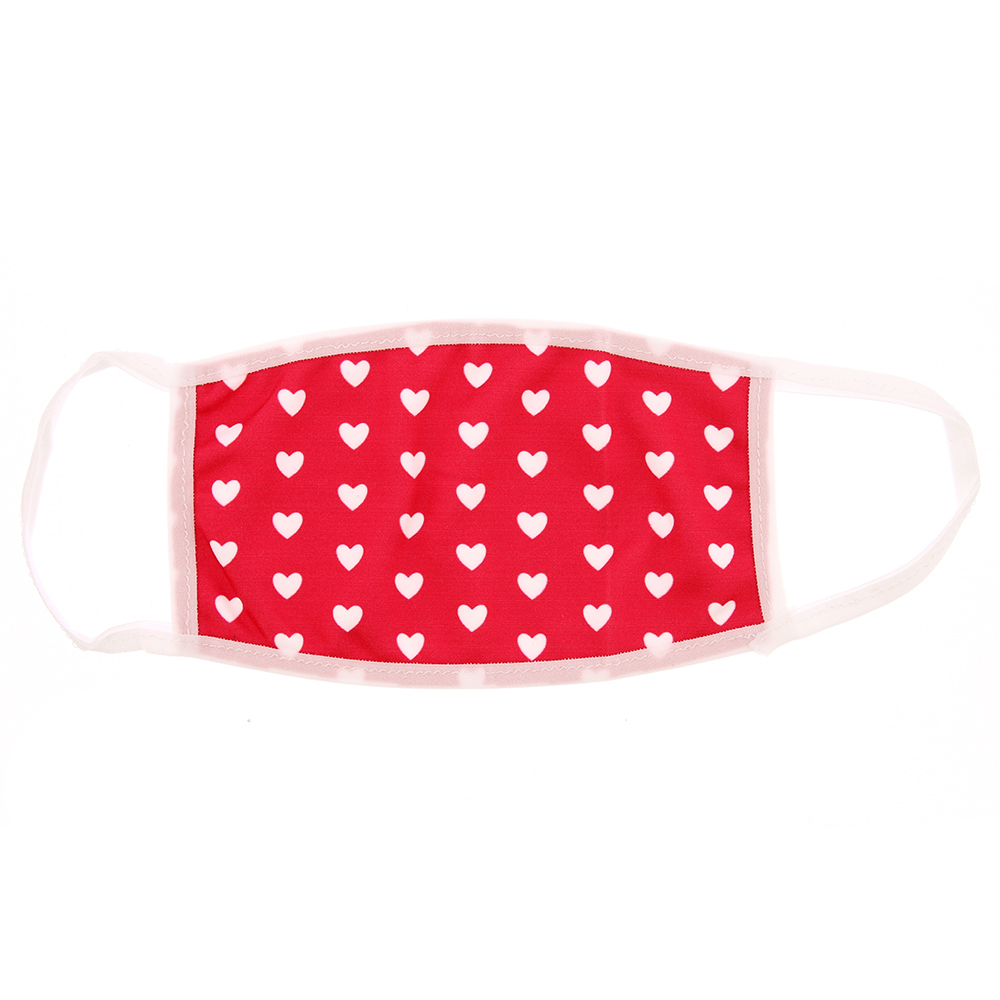 Picture of Heart Patterned Child Mask (Set of 2)