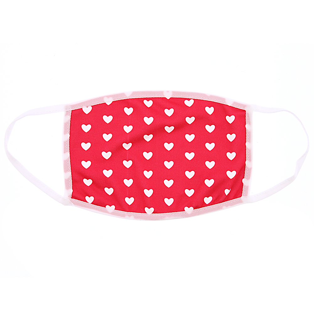 Picture of Adult Heart Patterned Face Mask