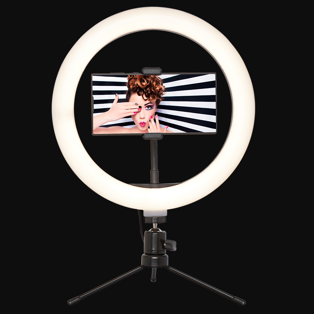 Picture of Social Media Ring Light with Phone Holder