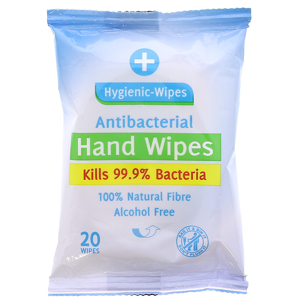 Picture of Hygienic Antibacterial Hand Wipes (36 x 20 Wipe Packs)