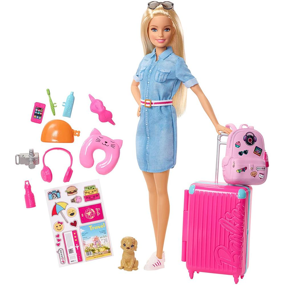 Picture of Barbie Travel Doll