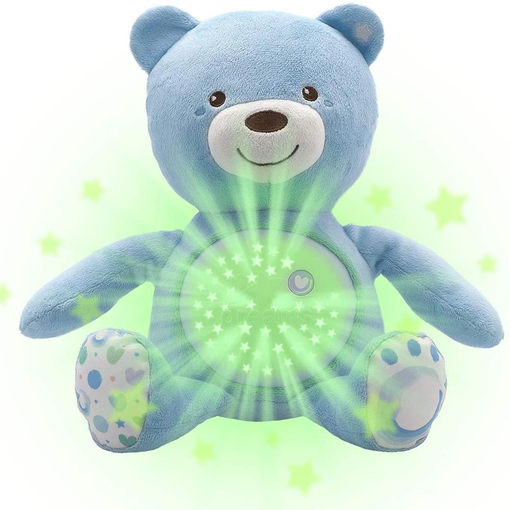 Picture of Chicco First Dreams Baby Bear Projector Plush (Blue)