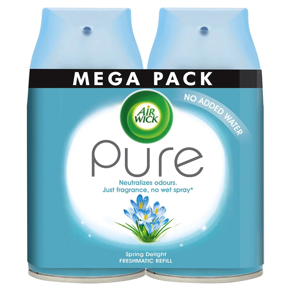 Picture of Air Wick Pure Spring Delight Freshmatic Refill (3 x Twin Pack)