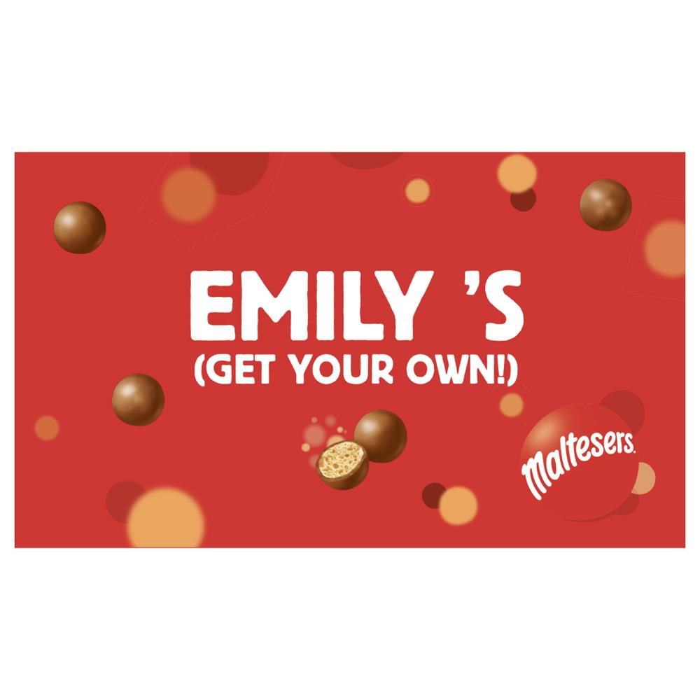 Picture of Personalised Box of Maltesers