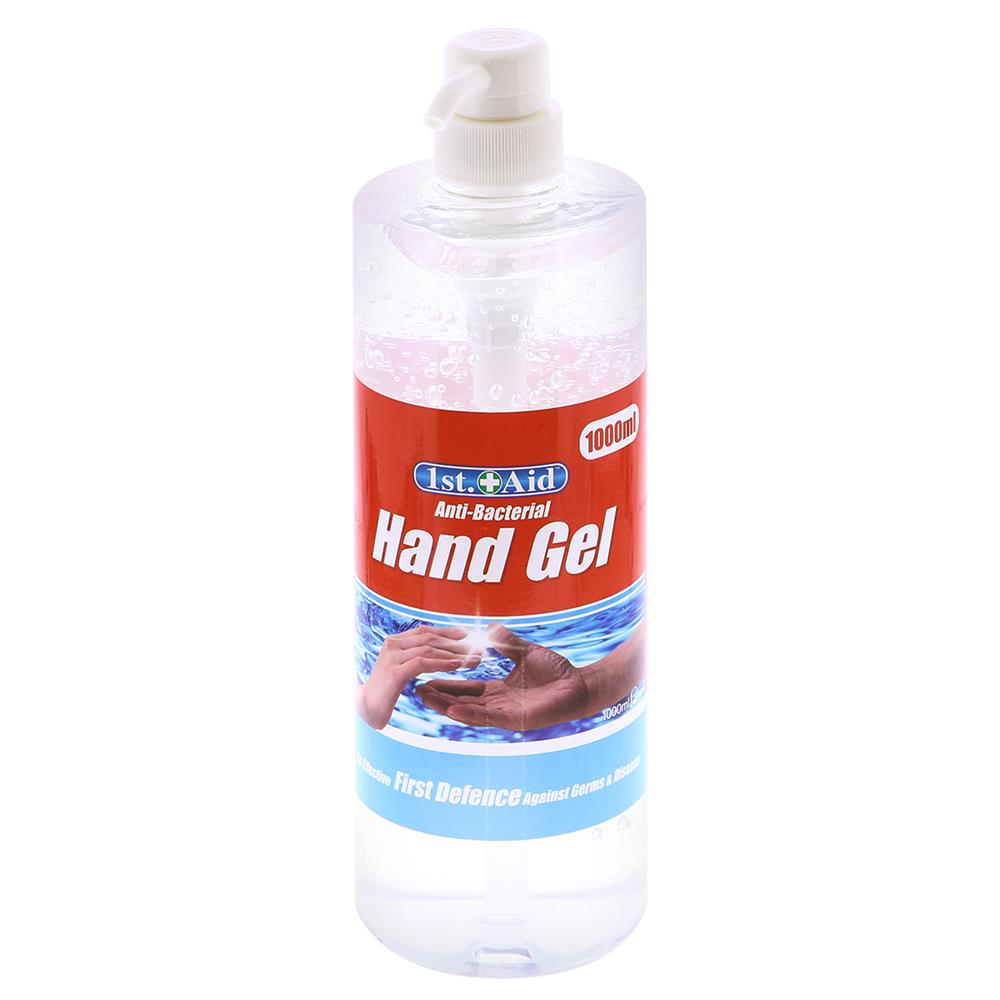 Picture of 1st Aid Anti-Bacterial Hand Gel (12 x 1L Pump Bottles)