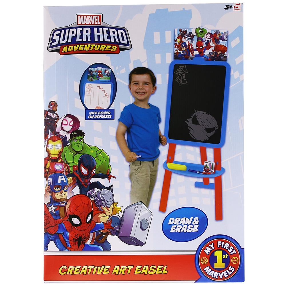 Picture of Marvel Super Hero Adventures Creative Art Easel