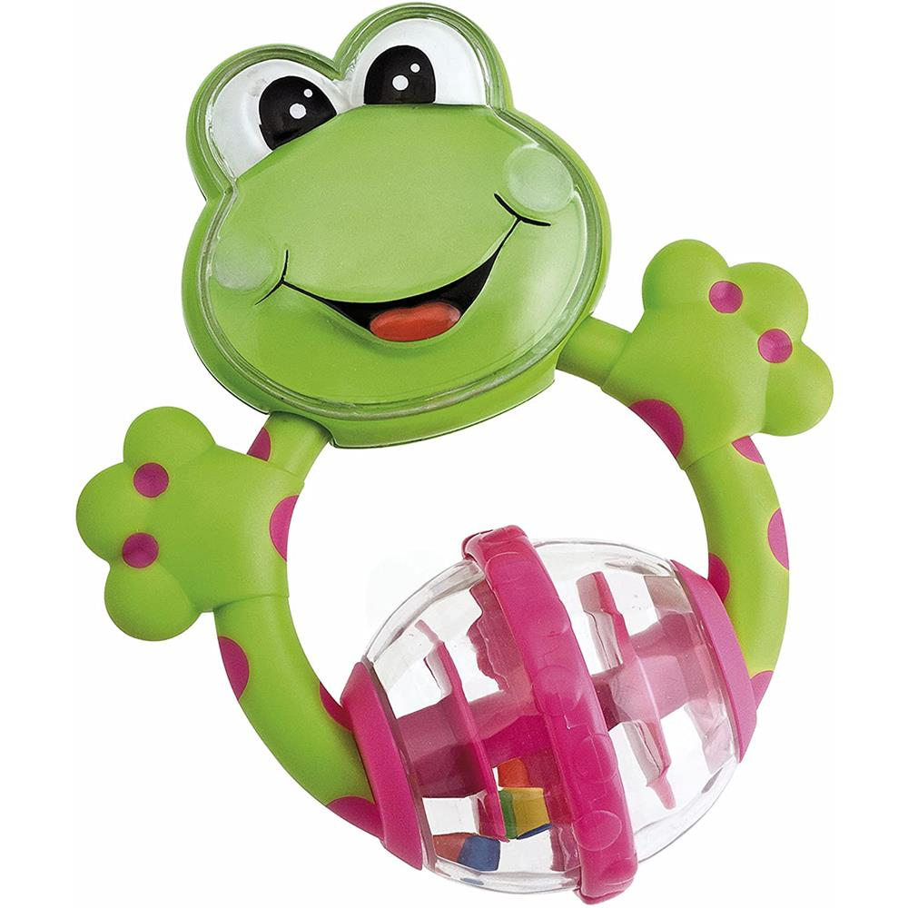 Picture of Chicco Frog Teething Rattle