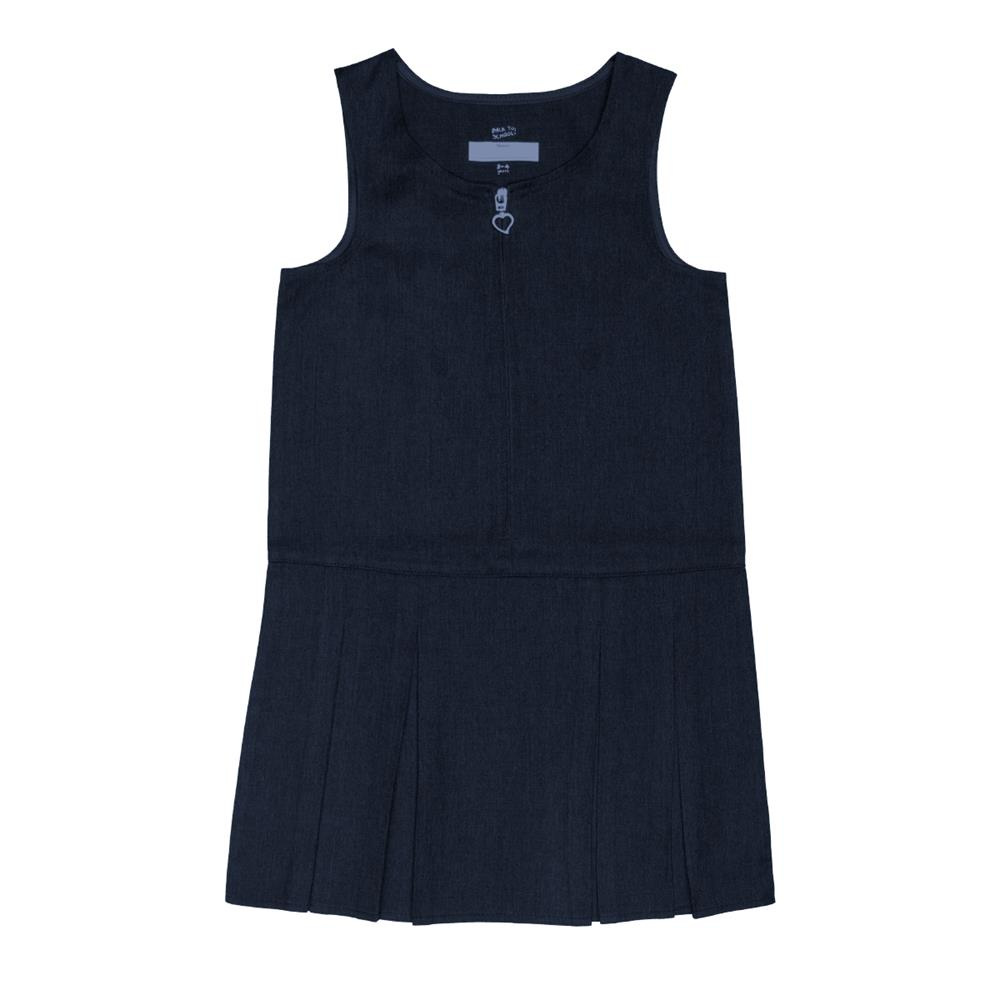 Picture of Back to School 2 Pack Navy Pinafores