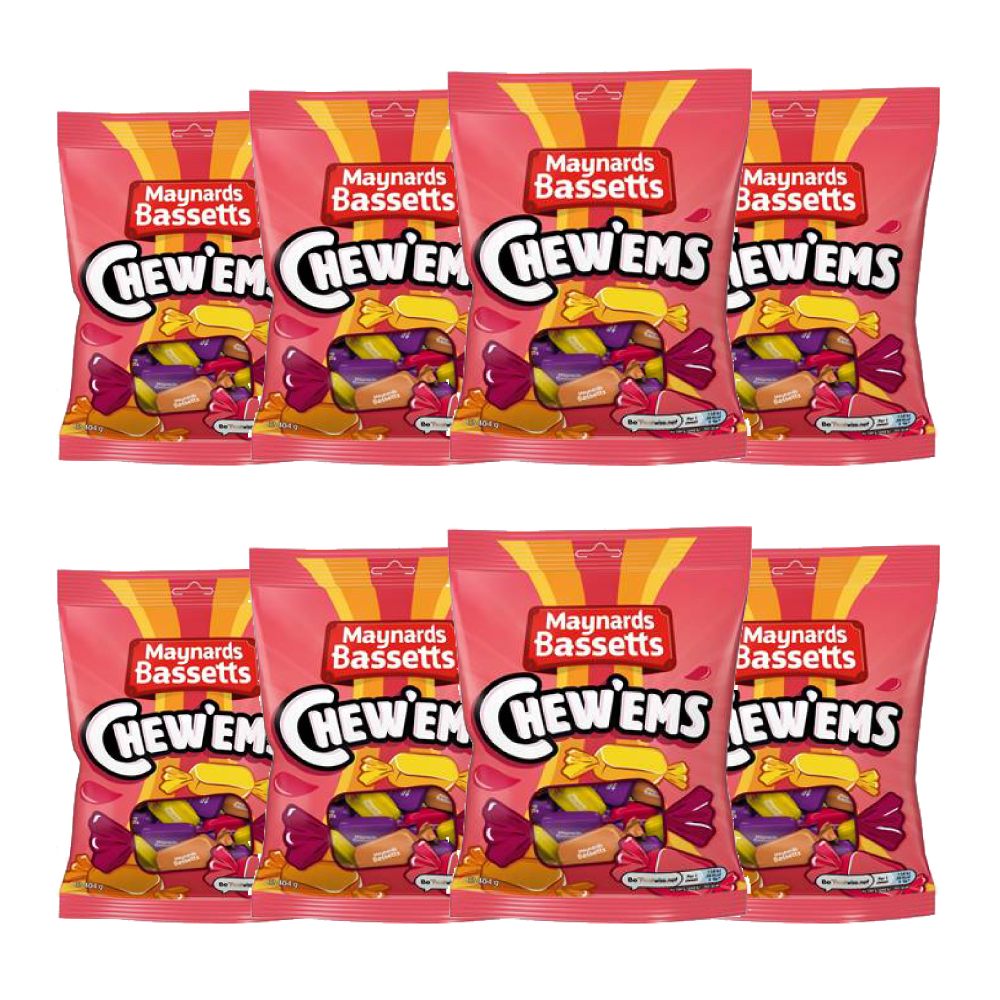 Picture of Maynards Bassetts Chew'ems (8 Bags)