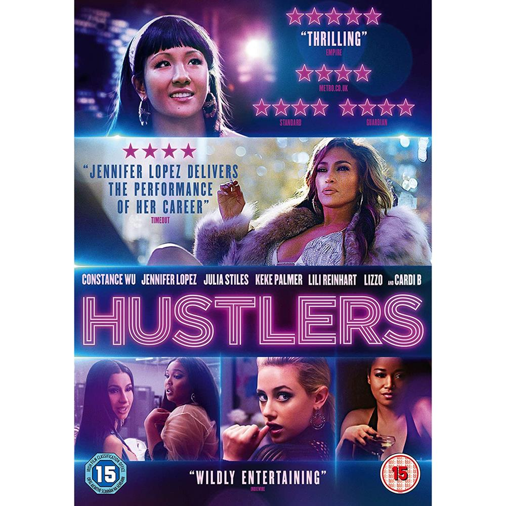 Picture of Hustlers DVD