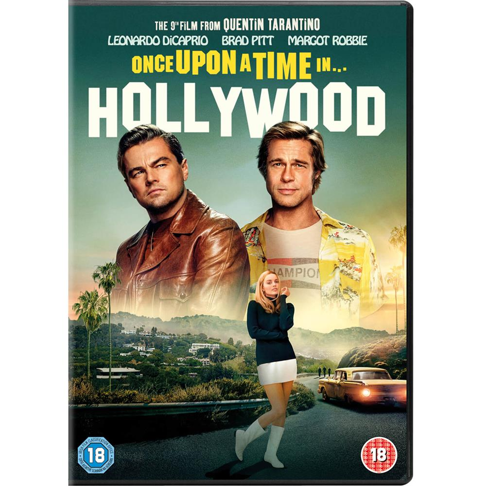 Picture of Once upon a Time in Hollywood DVD