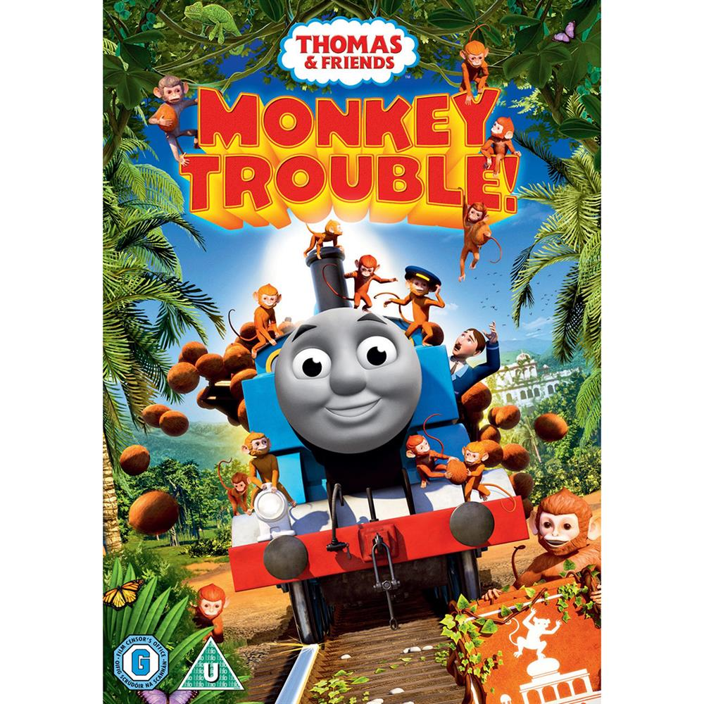 Picture of Thomas & Friends Monkey Trouble DVD