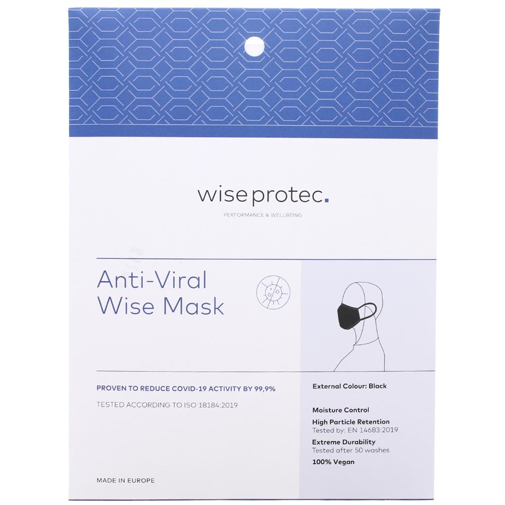 Picture of Wise Protec Anti-Viral Wise Mask (Black)