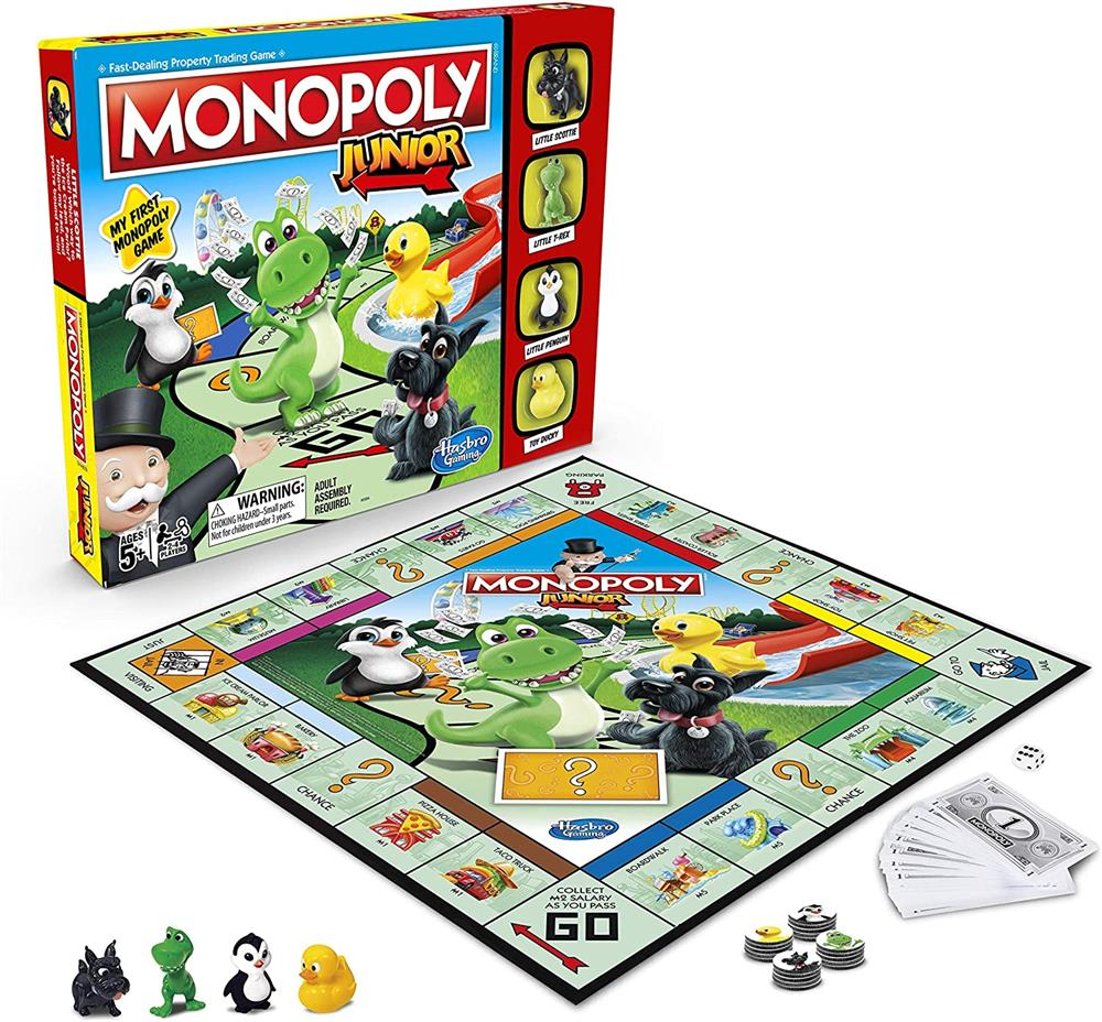 Picture of Monopoly Junior Game