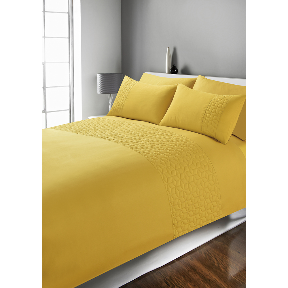 Picture of Home Collections: Pinsonic Duvet Set - Ochre