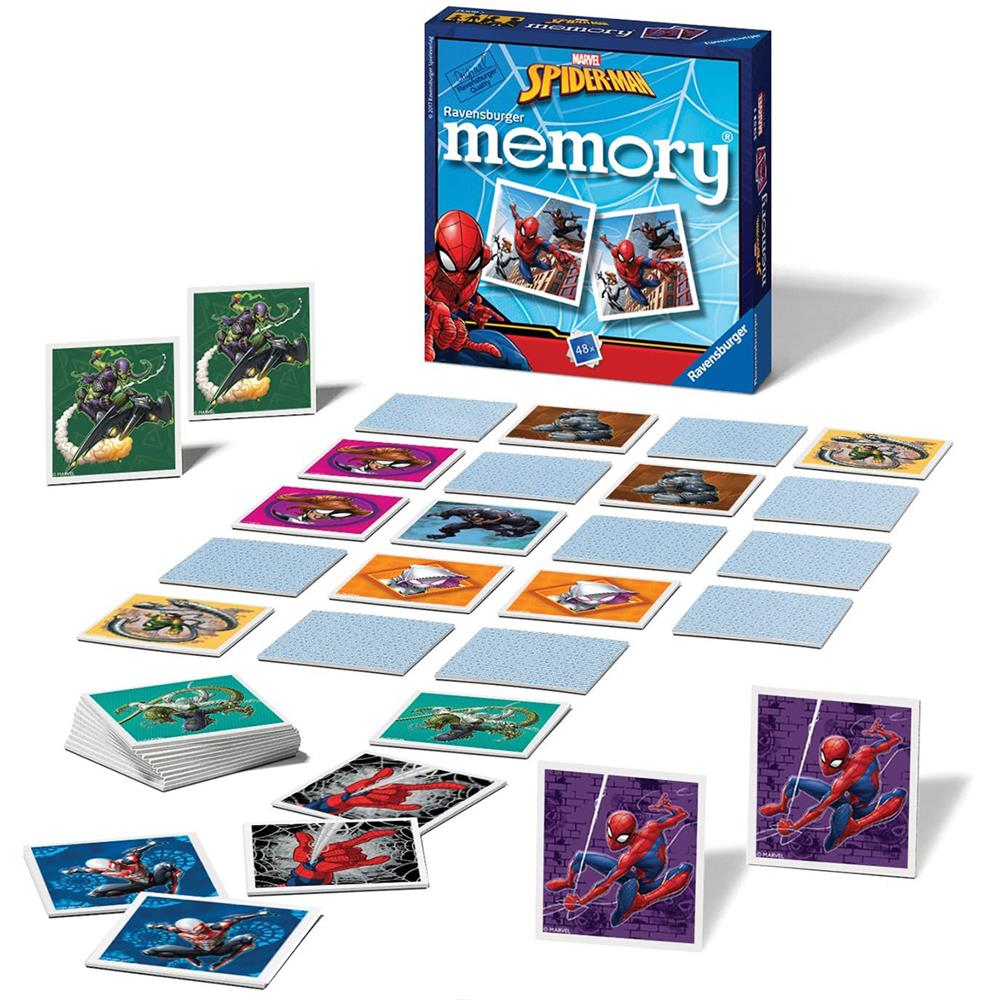 Picture of Spider-Man Ravensburger Memory Puzzle