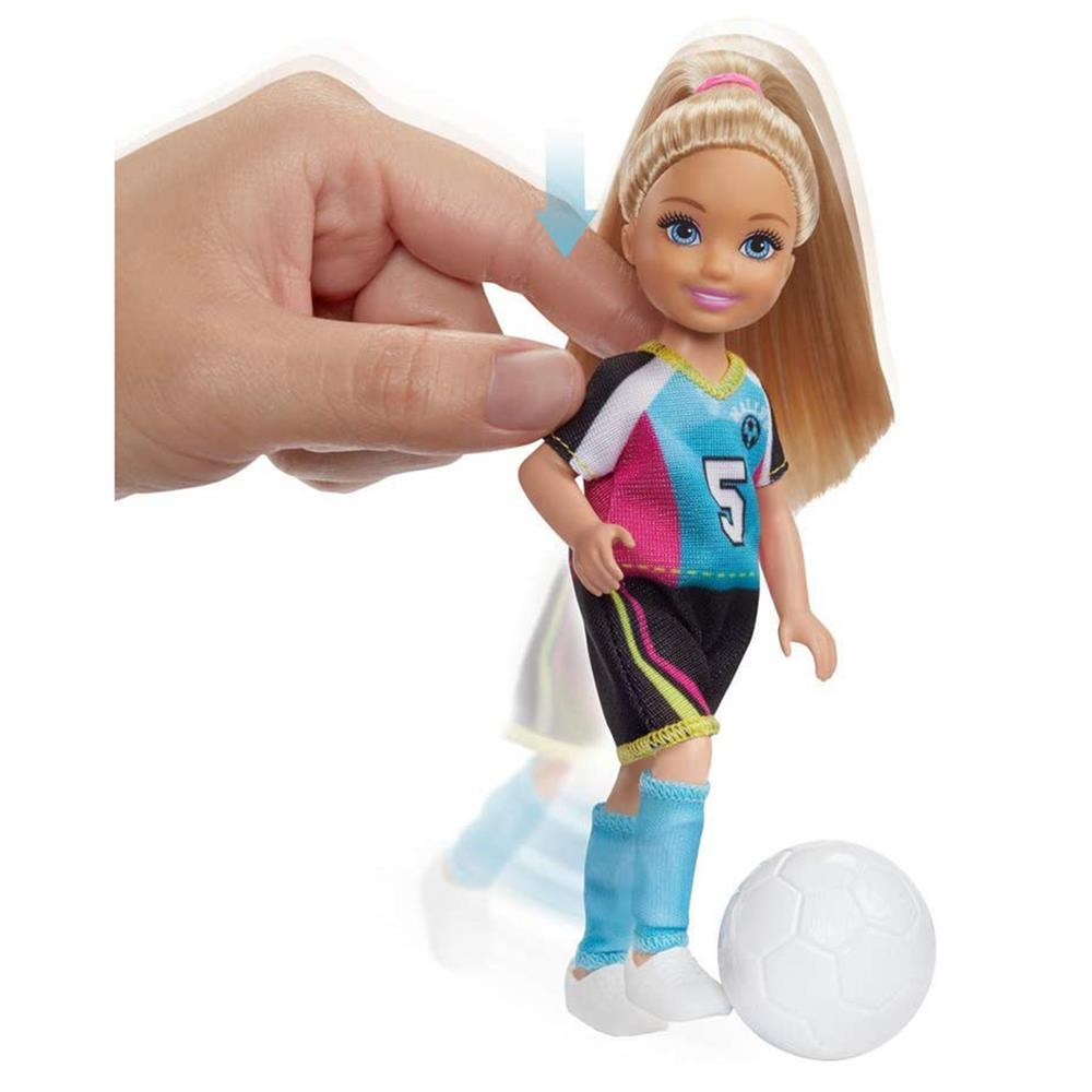 Picture of Barbie Chelsea Doll Soccer Playset & Accessories