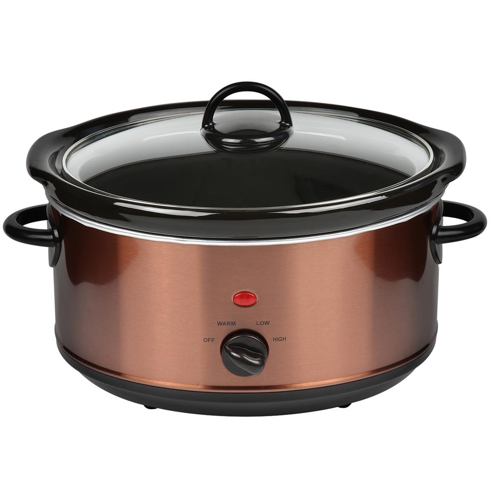 Picture of Open Kitchen 3.5 Litre Copper Effect Slow Cooker