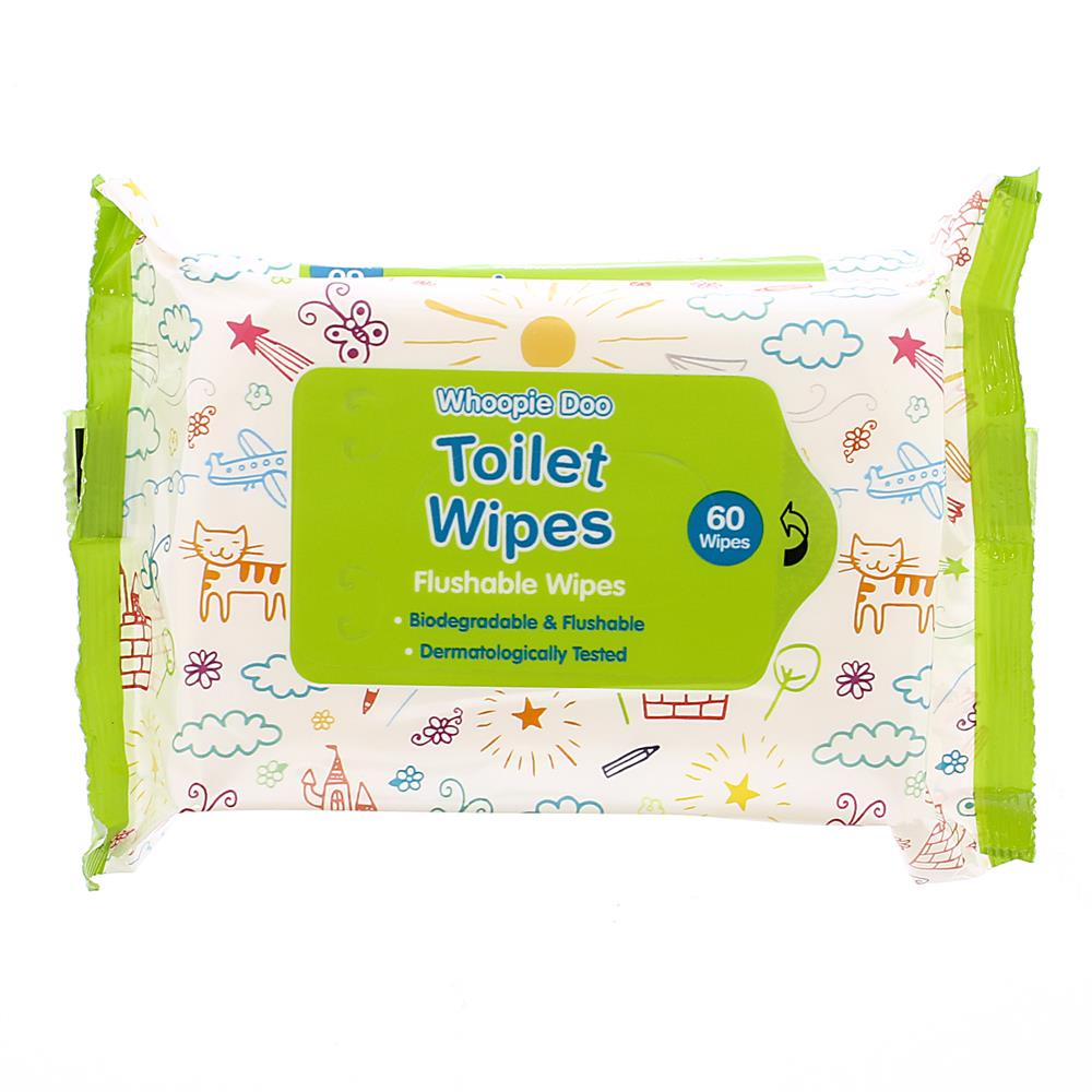 Picture of Whoopie Doo Toilet Wipes (24 x 60 Pack)