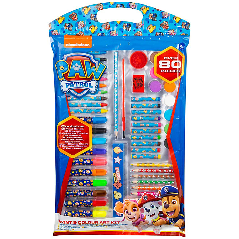 Picture of Paw Patrol Colouring Art Kit