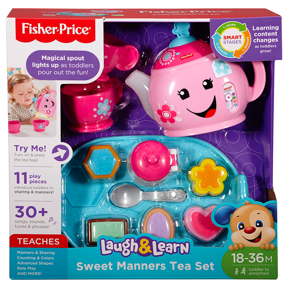 Picture of Fisher Price Laugh & Learn Sweet Manners Tea Set