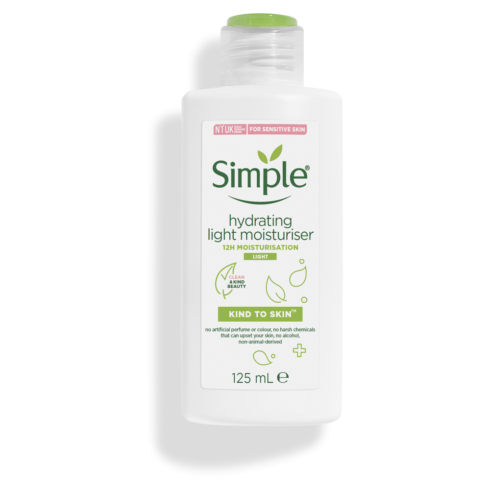 Picture of Simple Hydrating Light Moisturiser Kind to Skin 125ml
