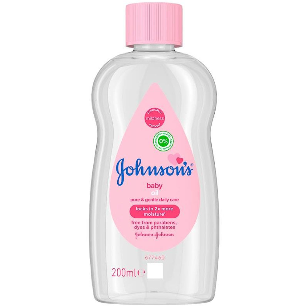 Picture of Johnson's Baby Oil (6 x 200ml Bottle)