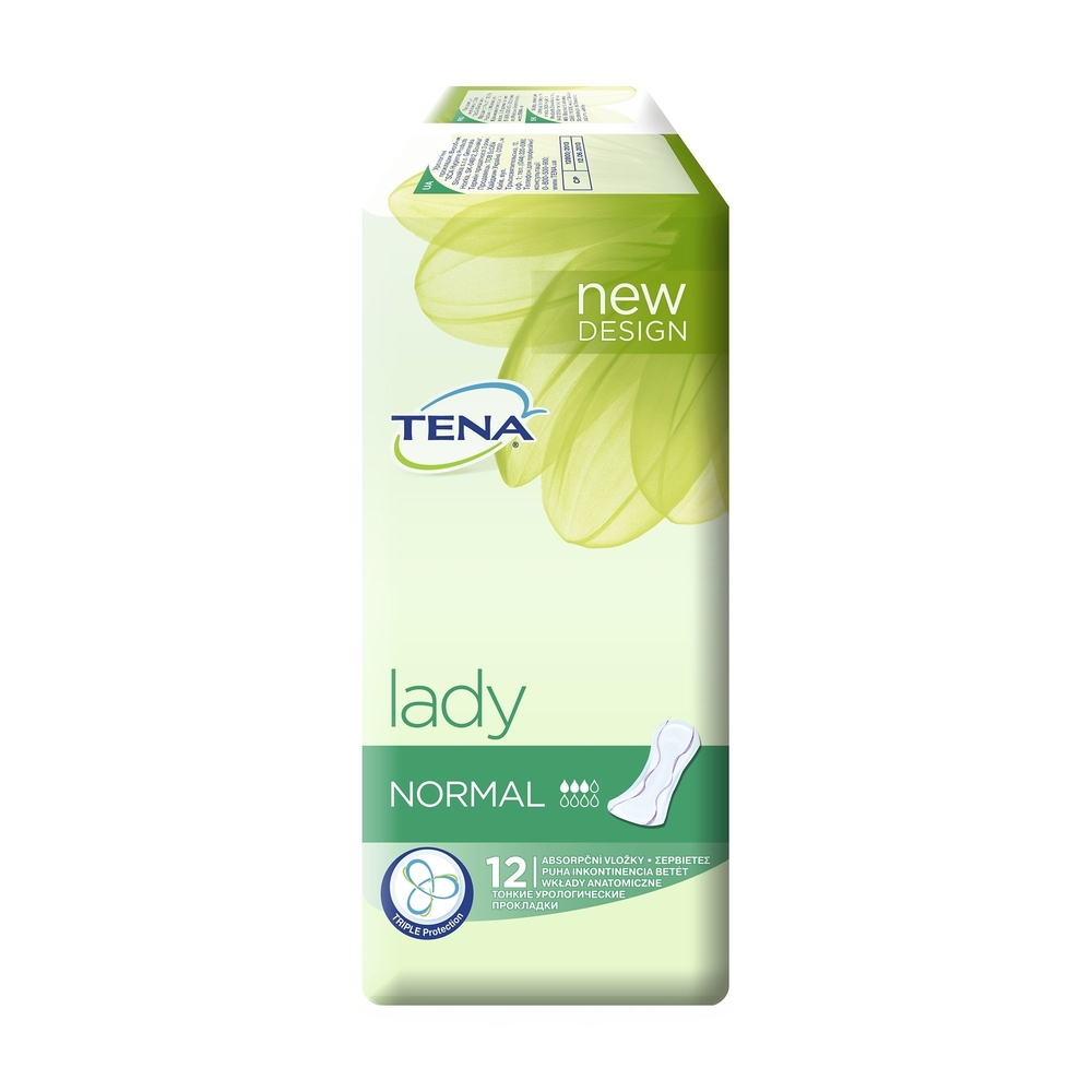 Picture of Tena Lady Normal Pads Incontinence Pads (6 x 12 Pack)