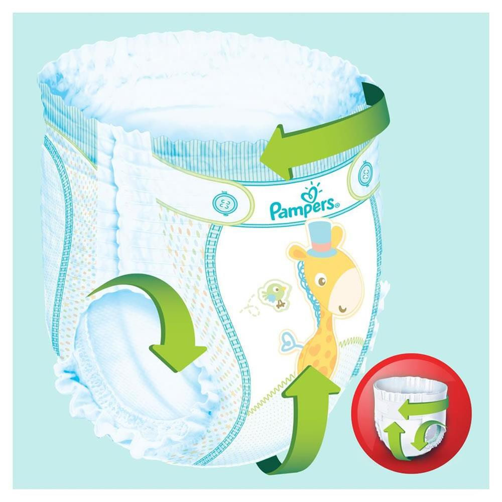 Picture of Pampers Baby-Dry Nappy Pants Size 6 (4 x 19 Nappies)