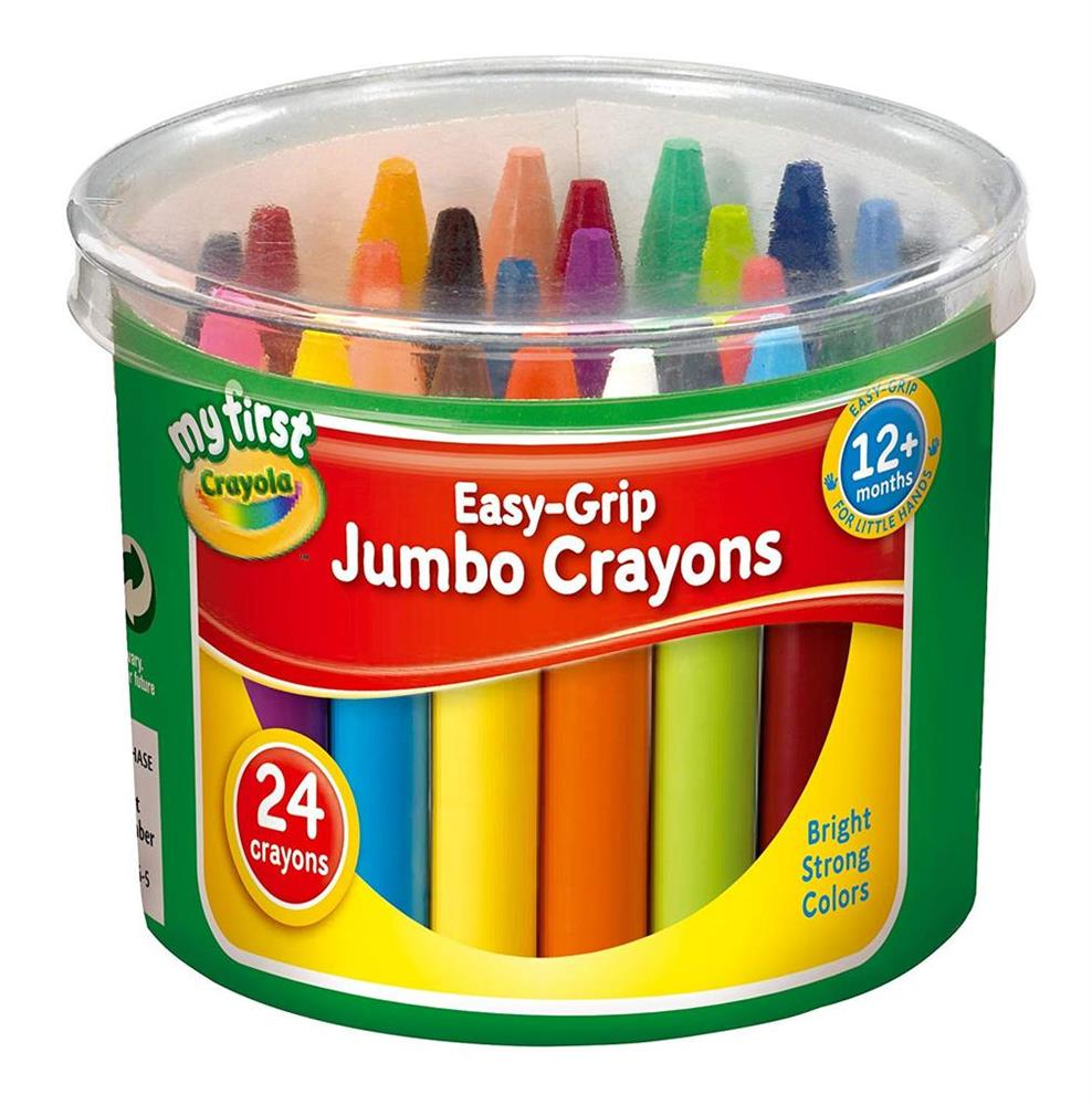 Picture of Crayola My First Easy-Grip Jumbo Crayons