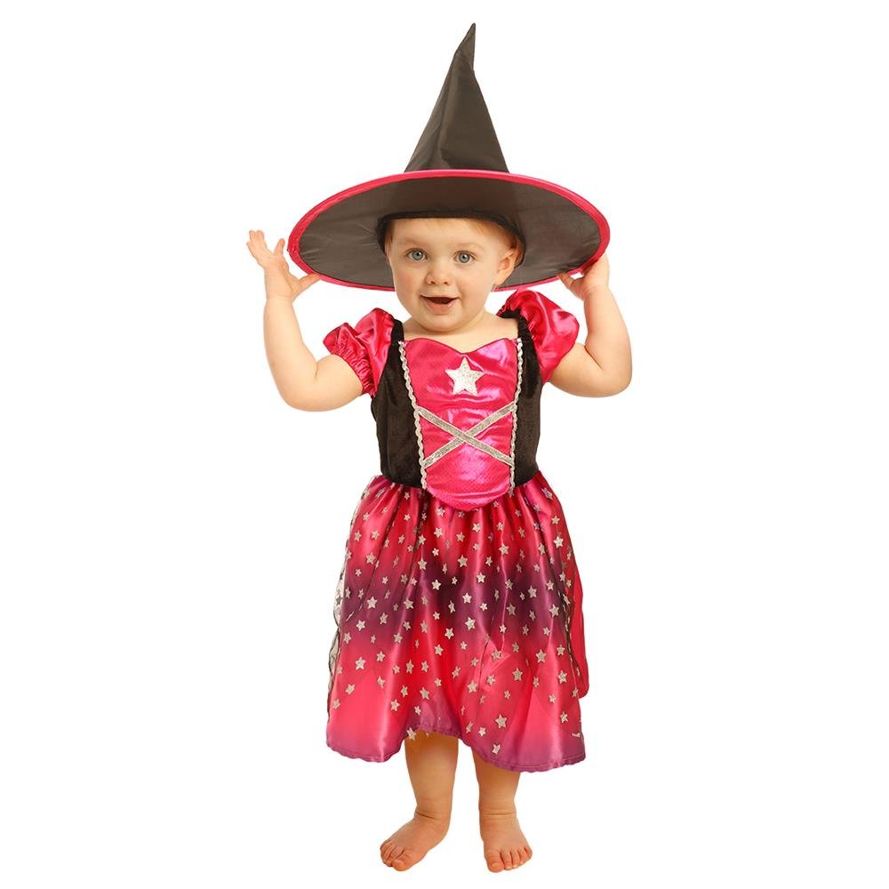 Picture of Hallow-Scream Witch Dress including Hat